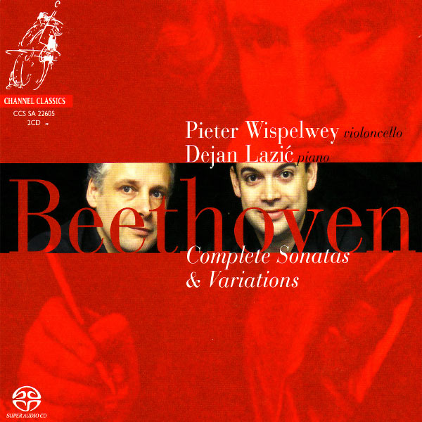 Pieter Wispelwey|Beethoven: Complete Sonatas and Variations for Piano and Cello (Pieter Wispelwey)