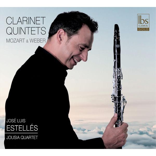 Jose Luis Estelles - Mozart & Weber: Clarinet Quintets