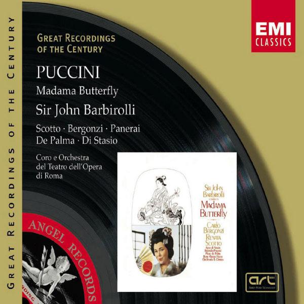 Sir John Barbirolli - Puccini : Madama Butterfly (Intégrale)