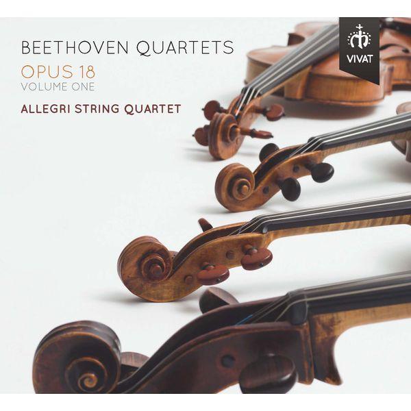 Allegri String Quartet - Beethoven: String Quartets, Op. 18, Vol. 1