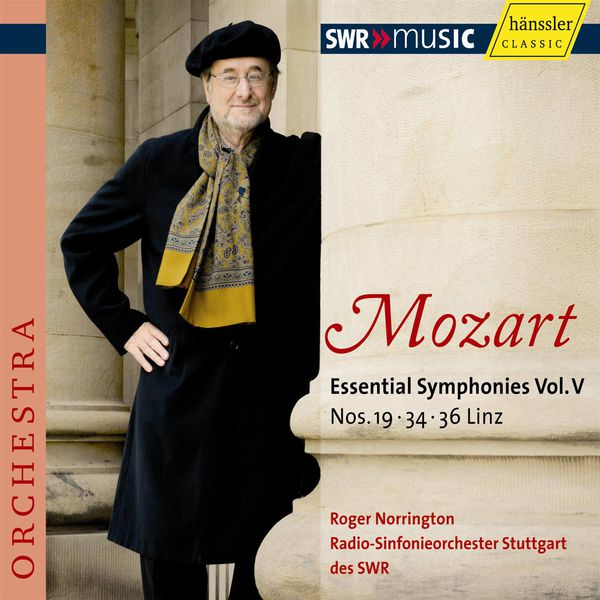 Radio-Sinfonieorchester Stuttgart des SWR - Mozart : Symphonies n°19, 34 & 36 (Vol. 5)