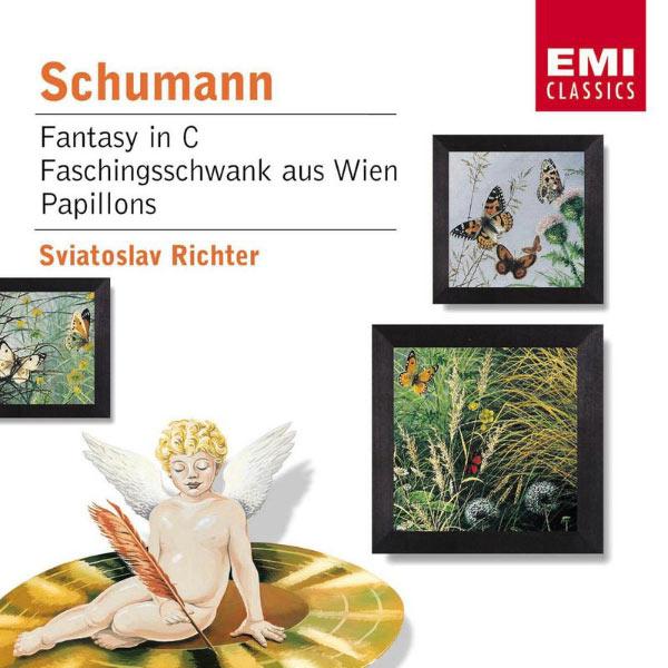 Sviatoslav Richter - Schumann : Fantasy in C/Faschingsschwank aus Wien/Papillons
