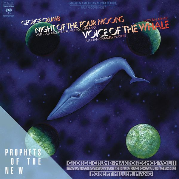 voice of the whale by george In 1976, music filmmaker robert mugge created his first music-related film titled george crumb: voice of the whale, it was this dazzling, 54-minute portrait of pulitzer prize-winning and grammy-winning composer george crumb.