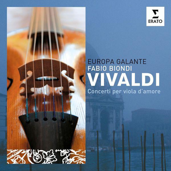 Fabio Biondi/Europa Galante Concertos pour viole d'amour