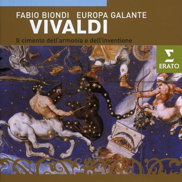 Fabio Biondi/Europa Galante - Vivaldi - Il cimento dell'armonia e dell'invenzione Op. 8