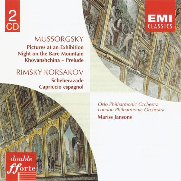 Mariss Jansons - Mussorgsky:Pictures at an Exhibition etc/Rimsky-Korsakov:Scheherazade etc