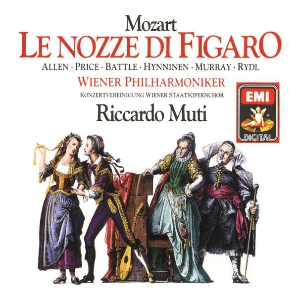 Riccardo Muti/Wiener Philharmoniker/Konzertvereinigung der Wiener Staatsopernchor - Mozart - Le nozze di Figaro