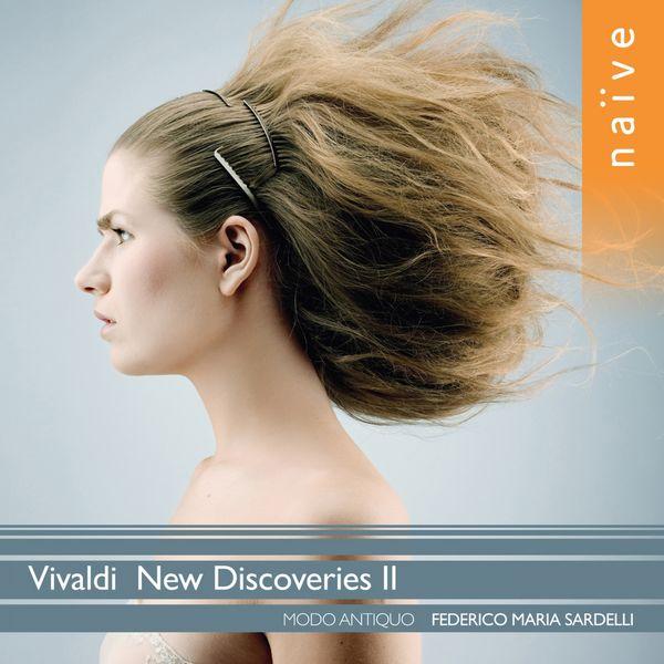 """Federico Maria Sardelli - Vivaldi : New discoveries II (""""Il Gran Mogol"""" RV431a, Concerto RV817, 2 Sonates, etc.)"""