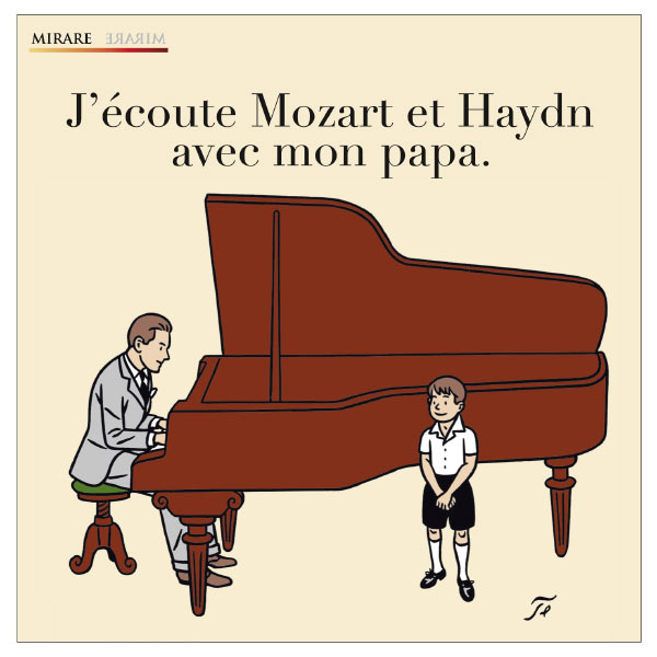 Iddo Bar-Shaï - J'écoute Mozart et Haydn avec mon papa