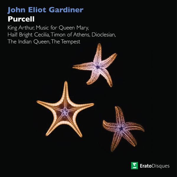 John Eliot Gardiner - Purcell: King Arthur, Music for Queen Mary, Hail! Bright Cecilia, Timon of Athens, Dioclesian, The Indian Queen & The Tempest