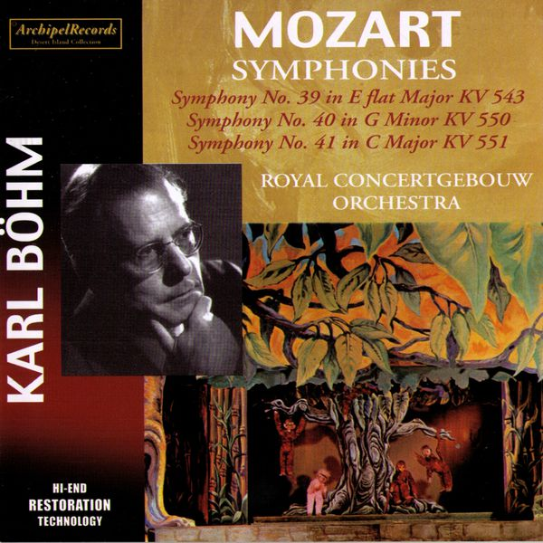 Carl Bohm - Wolfgang Amadeus Mozart : Symphonies No.39, 40, 41