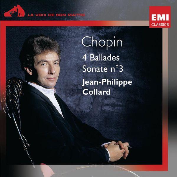 Jean-Philippe Collard - Chopin 4 Ballades et Sonate n°3