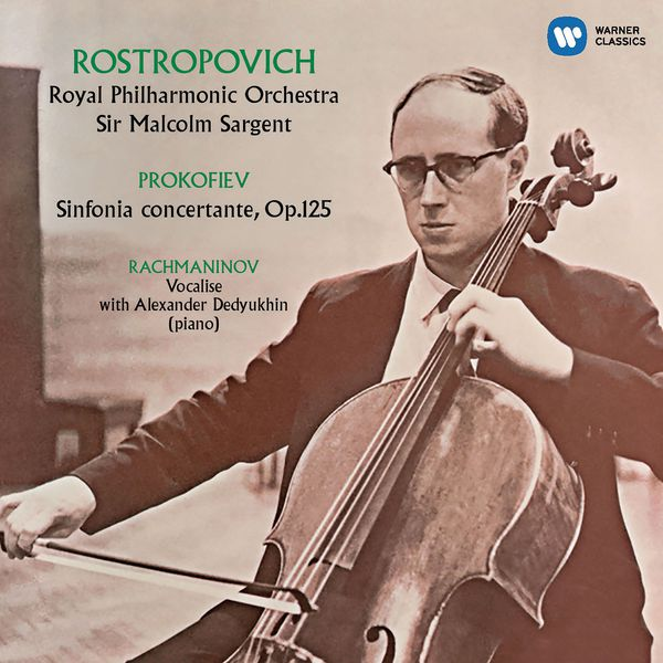 Mstislav Rostropovich - Prokofiev: Sinfonia concertante, Rachmaninov: Vocalise