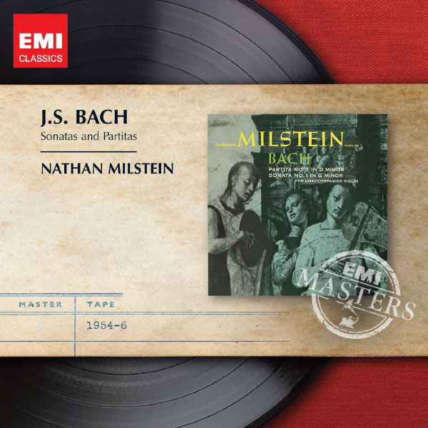 Nathan Milstein - Bach : Sonatas & Partitas