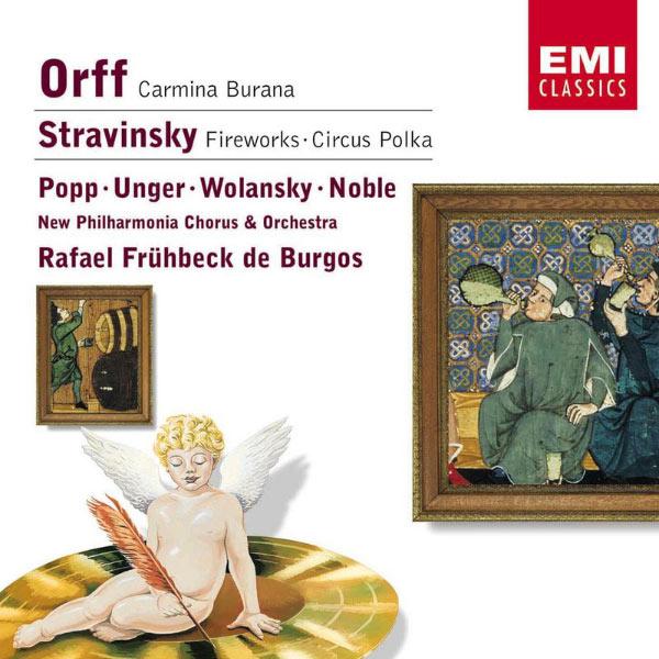 Rafael Frühbeck de Burgos - Orff: Carmina Burana/Stravinsky: Fireworks & Circus Polka