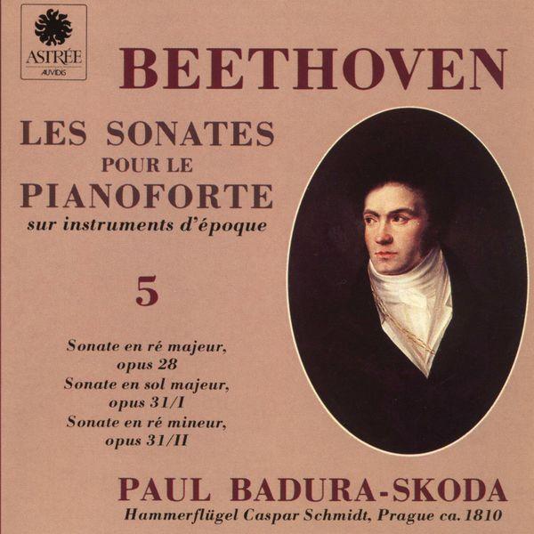 Paul Badura-Skoda - Beethoven: Les sonates pour le pianoforte sur instruments d'époque, Vol. 5