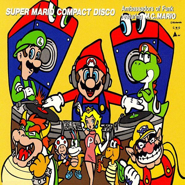 Ambassadors Of Funk - Super Mario Compact Disco (feat. M.C. Mario)