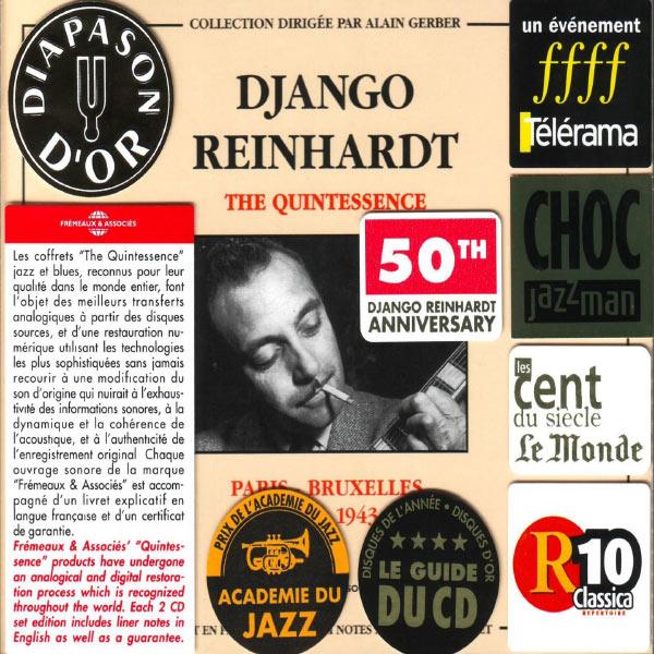 Django Reinhardt - Django Reinhardt - The Quintessence : Paris-Bruxelles 1934-1943
