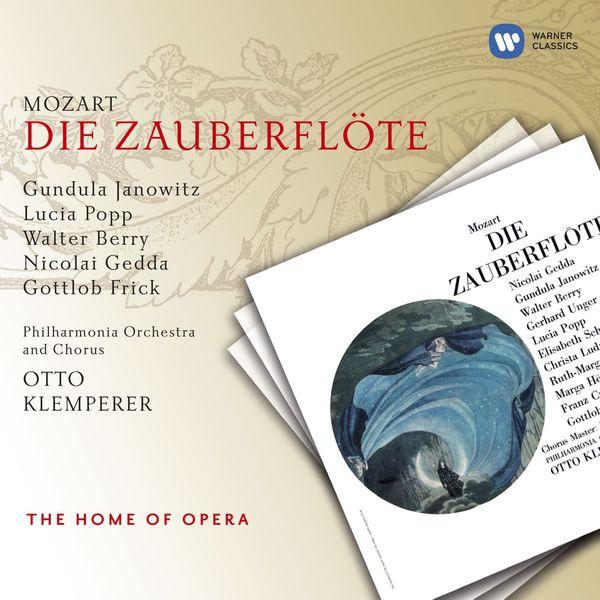 Otto Klemperer - Wolfgang Amadeus Mozart : Die Zauberflöte (La Flûte enchantée)