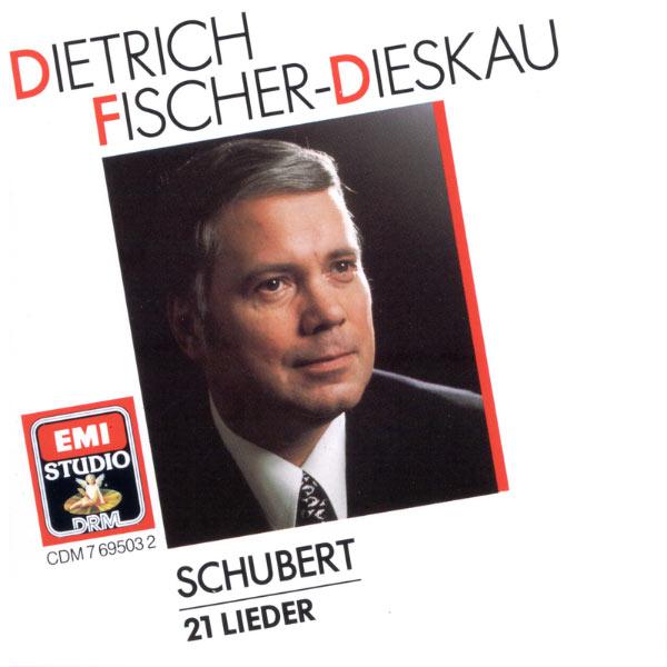 Dietrich Fischer-Dieskau - Schubert : 21 Lieder
