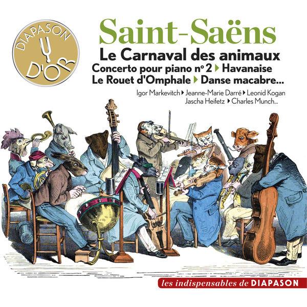Igor Markevitch - Saint-Saëns : Le Carnaval des animaux - Concerto pour piano No. 2 - Havanaise, Le rouet d'Omphale - Danse macabre...(Diapason n°610)