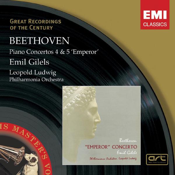 Emil Gilels - Beethoven: Piano Concerto Nos 4 & 5