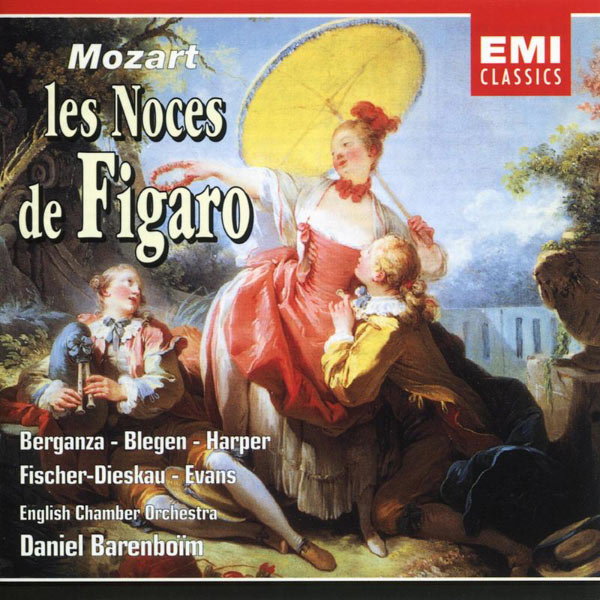 Daniel Barenboim/English Chamber Orchestra/Soloists - Mozart: Le Nozze di Figaro