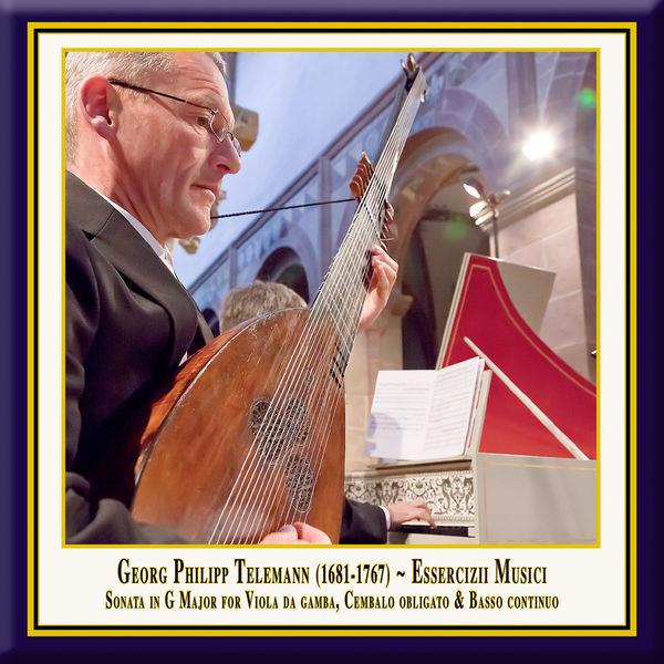 Simone Eckert - Telemann: Essercizii musici, Trio No. 4 in G Major, TWV 42:G6