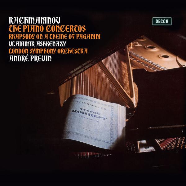 Vladimir Ashkenazy - Rachmaninov: Piano Concertos Nos. 1-4, Rhapsody on a Theme of Paganini