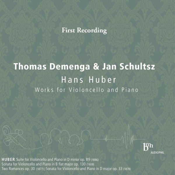 Thomas Demenga - Hans Huber: Works for Violoncello & Piano