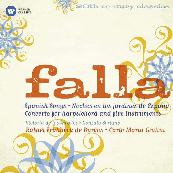 Various Artists - Falla: El amor brujo, El sombrero de tres picos, Siete canciones populares, etc.