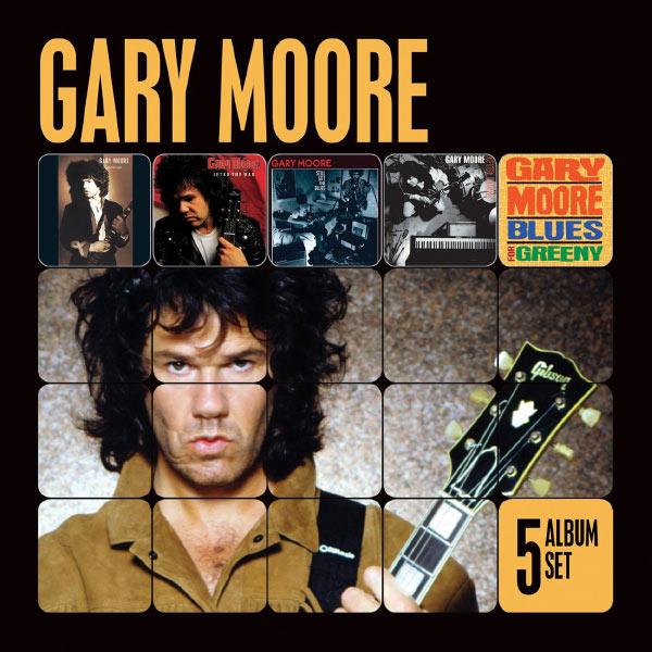 Gary Moore - 5 Album Set