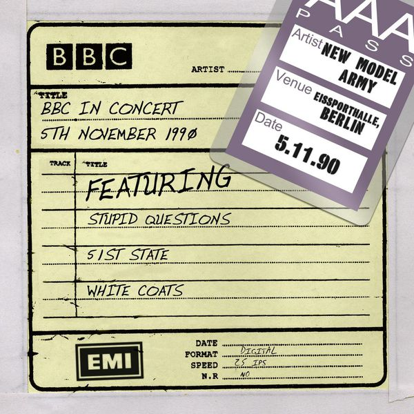 New Model Army - BBC In Concert (5th November 1990)