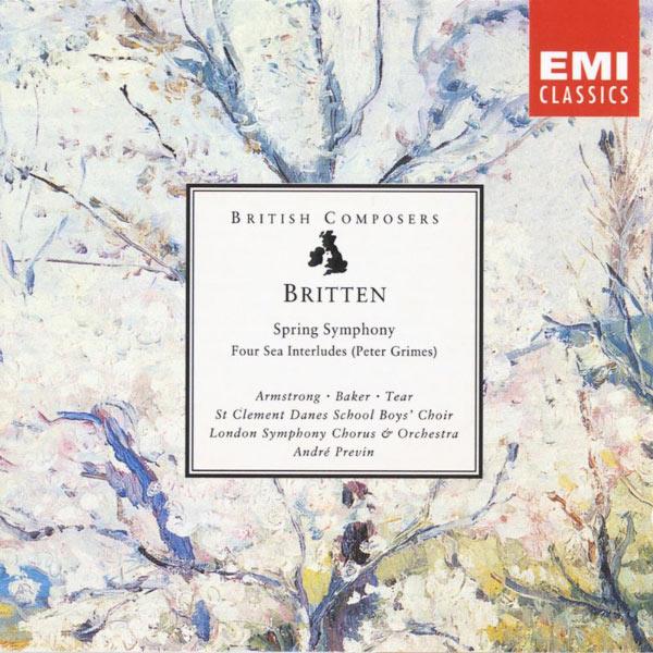 André Previn - Britten: Spring Symphony, Four Sea Interludes (Peter Grimes)