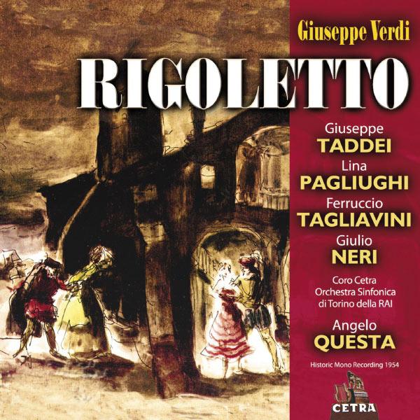 Angelo Questa - Cetra Verdi Collection: Rigoletto