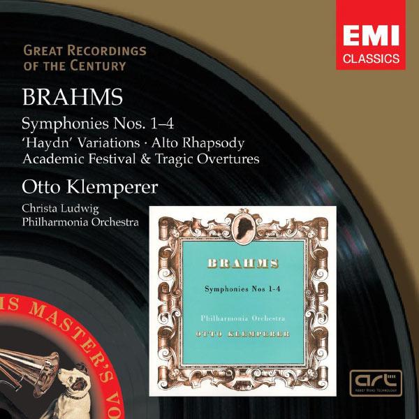 Otto Klemperer - Brahms: Symphonies Nos. 1-4