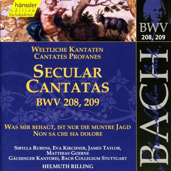 Helmuth Rilling - J.S. Bach : Secular Cantatas, BWV 208 & BWV 209
