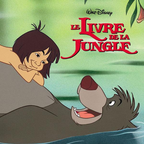 """Various Artists - Bande Originale du film """"Le Livre de la Jungle (version française)"""" (The Jungle Book - French Version, film de Wolfgang Reitherman, 1967)"""