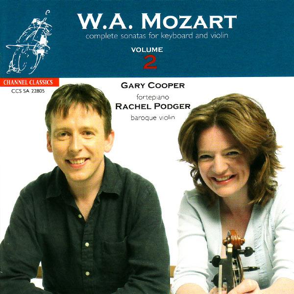 Rachel Podger - Mozart: Complete Sonatas for Keyboard and Violin, Vol. 2