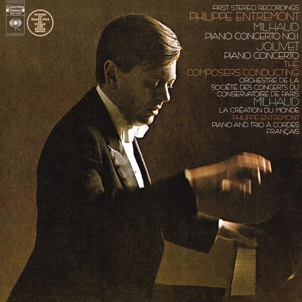 Jacques Ghestem - Jolivet: Concerto for Piano and Orchestra, Milhaud: Concerto No. 1 for Piano and Orchestra & La Création du Monde Op. 81