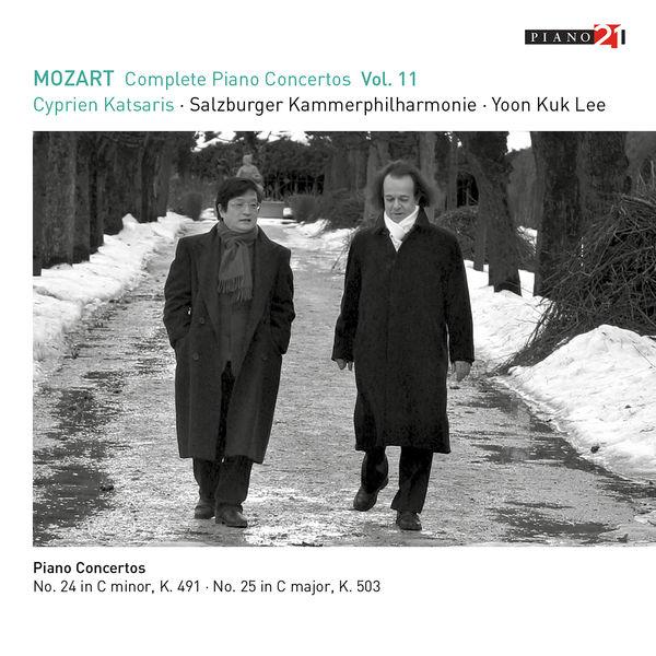 Cyprien Katsaris - Mozart: Complete Piano Concertos, Vol.11 (K.491, 503 - Live)