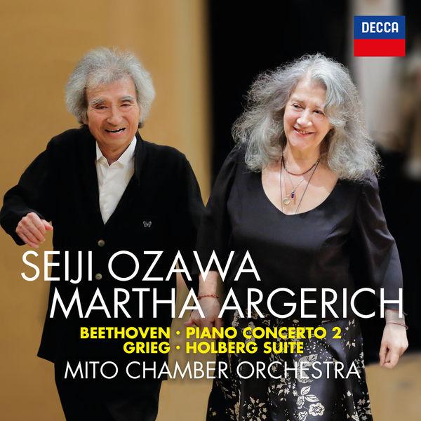 Seiji Ozawa - Beethoven: Piano Concerto No. 2; Grieg: Holberg Suite