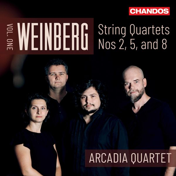 Arcadia Quartet - Weinberg: String Quartets, Vol. 1