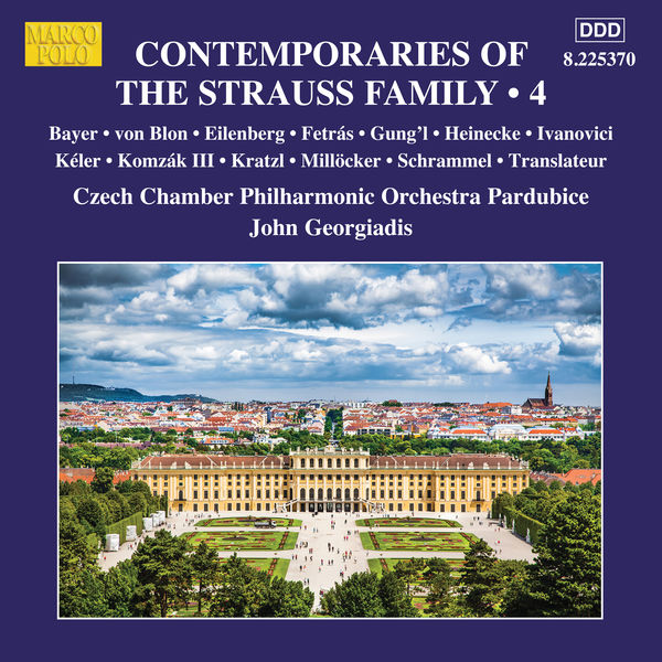 Czech Chamber Philharmonic Orchestra Pardubice - Contemporaries of the Strauss Family, Vol. 4
