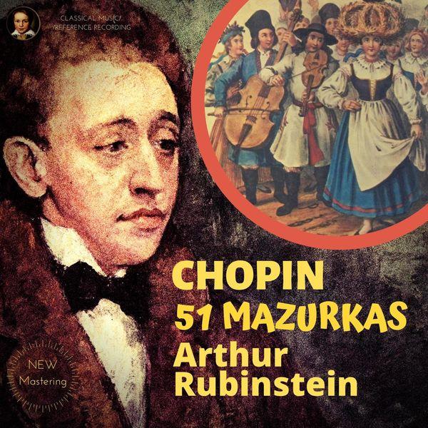Arthur Rubinstein Chopin by Rubinstein: 51 Mazurkas