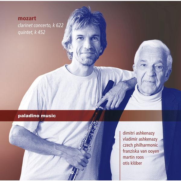 Dimitri Ashkenazy - Mozart: Clarinet Concerto in A Major, K. 622 & Piano Quintet in E-Flat Major, K. 452