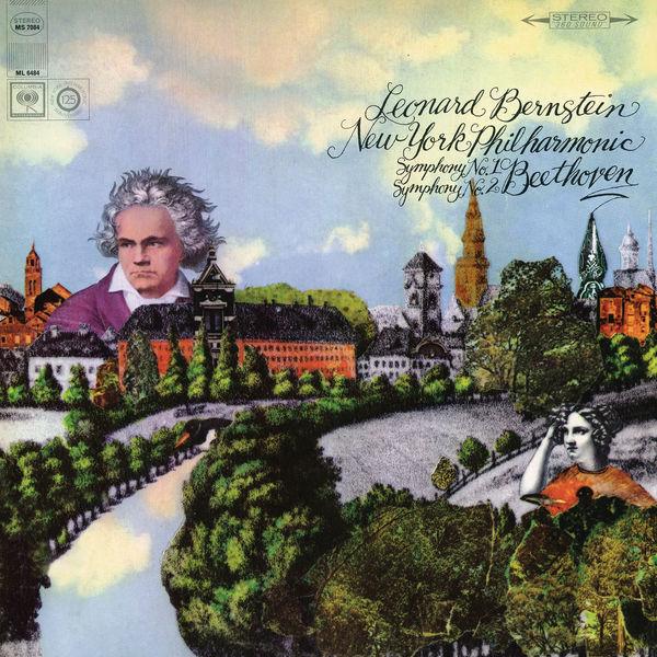Leonard Bernstein - Beethoven: Symphony No. 2 in D Major, Op. 36 & Symphony No. 1 in C Major, Op. 21 (Remastered)