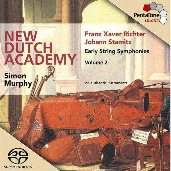 New Dutch Academy Chamber Orchestra - STAMITZ / RICHTER: Early String Symphonies, Vol. 2