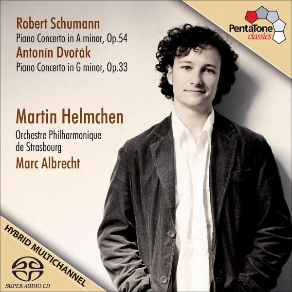 Martin Helmchen - Schumann & Dvořák: Piano Concertos