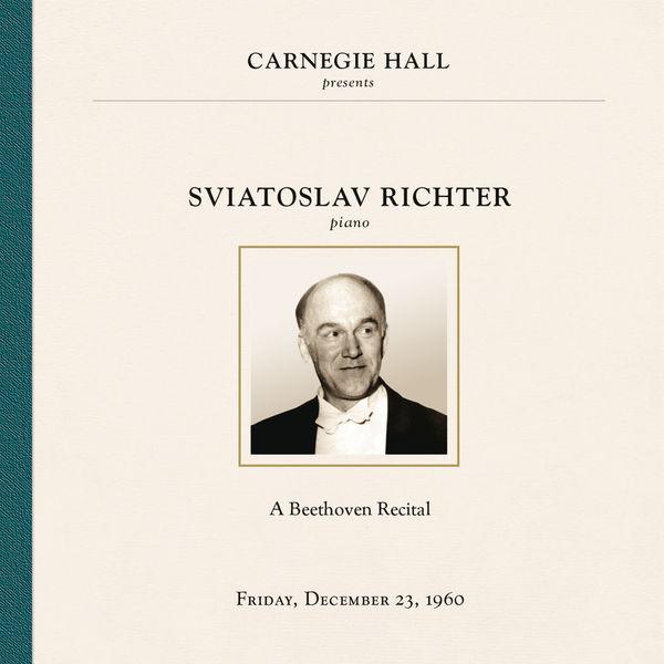 Sviatoslav Richter - Sviatoslav Richter at Carnegie Hall, New York City, December 23, 1960